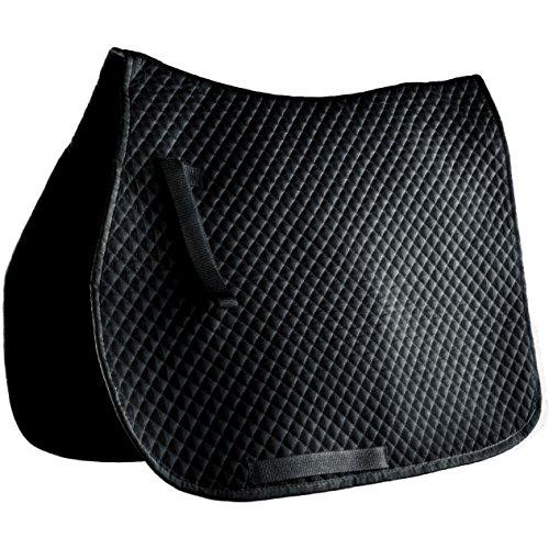 Quilt Saddle Pad (Roma Mini Quilt All Saddle Pad Cob Black)