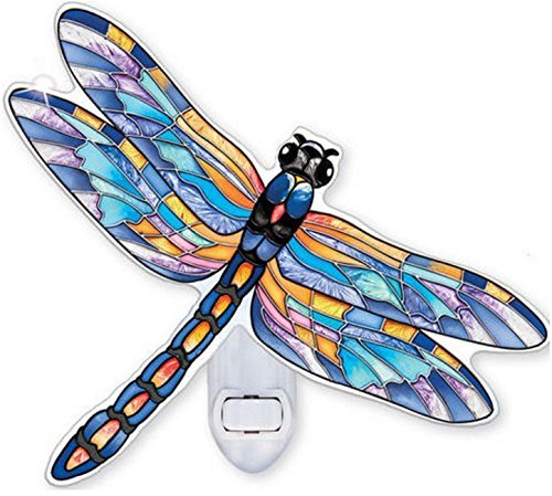 Pennant Blue Dragonfly Nightlight (Dragonfly Night Light)