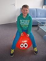 Balón Saltador, con Antenas de Agarre y Diseño de Smiley: Amazon ...