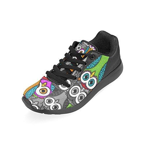 Interesprint Mujeres Road Running Zapatos Jogging Ligero Deportes Walking Athletic Sneakers Multi 9