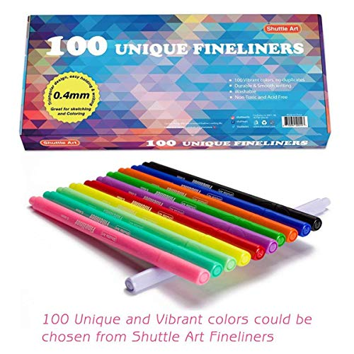 Buy colored pens for notes