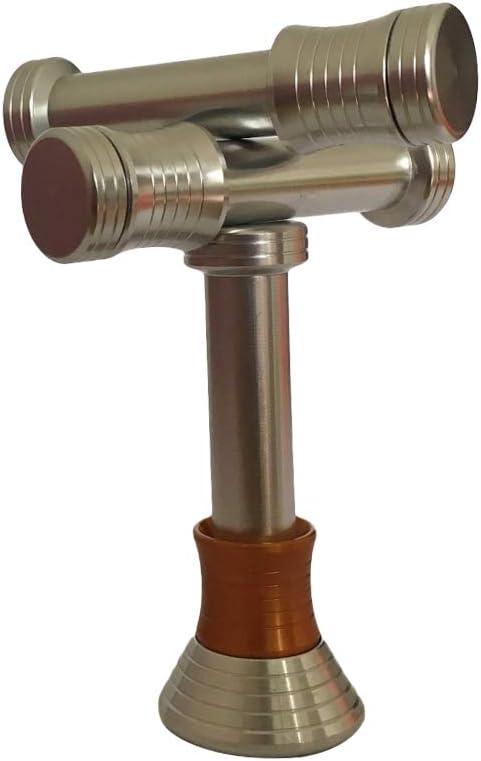 YO-HAPPY Mini Moon Drop Gravity Defying Fidget Hand Spinner Stress Relief DIY Desk Toy