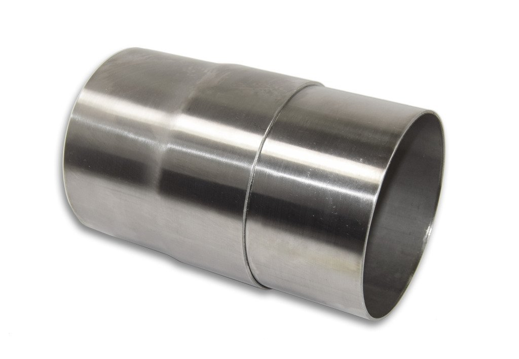 "Stainless Headers Mfg./ 4/"" Stainless Slip Joint Exhaust Header Muffler Adaptor American Made"