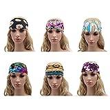 niceEshop(TM) Women Stretchable Yoga Outdoor Sport Bandanna Headwrap Scarf Wrap Boho Head Bands