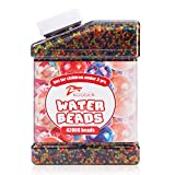 KOODER Water Beads,42000 Pcs,Water Gel Beads Pearls for Vase Filler, Wedding Centerpiece, Home Decoration, Plants, Toys.