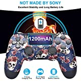 AUGEX Cool Colorful PS4 Controller Compatible with