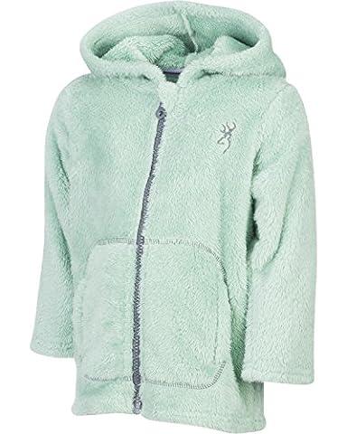 Browning Toddler-Girls' Green Teddy Bear Jacket Green 4T - Hi Loft Fleece Jacket