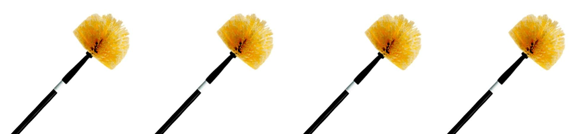 Ettore 31028 Professional Cobweb Duster with Pole (4-(Pack))