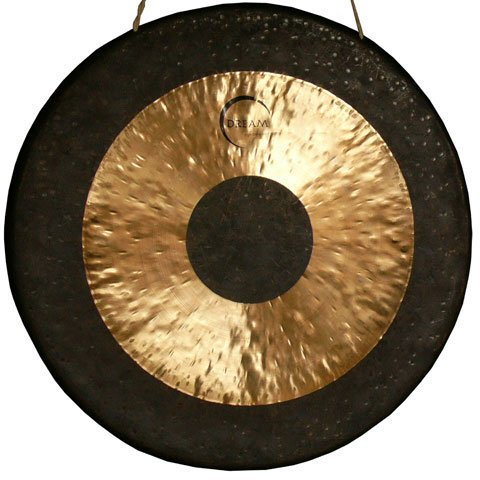 Dream Chau 12'' Black Dot Gong by Dream