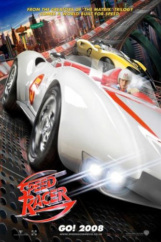 (Speed Racer Poster Movie UK 11x17 Emile Hirsch Christina Ricci Susan Sarandon Matthew Fox)