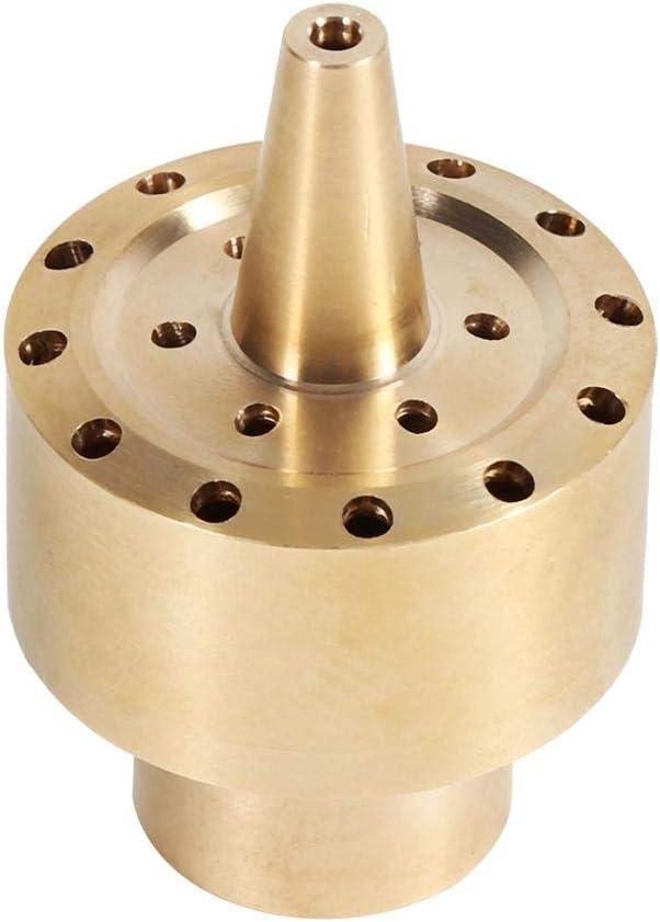 Yosoo - Boquilla pulverizadora para fuente de agua Sprinkler 1/4 / 1/2 / 3/4
