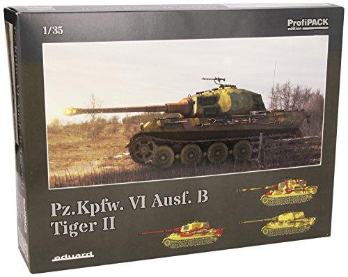 EDU03715 1:35 Eduard Pz. Kpfw. VI Ausf. B Tiger II MODEL KIT