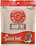 Buddy Biscuits Grain Free Soft and Chewy Dog Treats w/Grilled Beef - 5oz