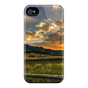 New Premium WamKemJ427WpvgC Case Cover For Iphone 4/4s/ The Flatirons Boulder Colorado Protective Case Cover
