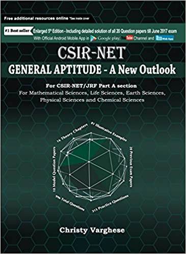 Buy CSIR-NET General Aptitude - A New Outlook Book Online at