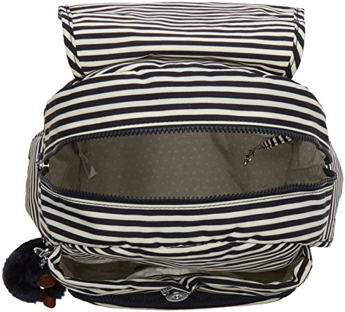 Backpack Marine Womens City Pack Kipling Multicolour Stripy wqBtZTg8