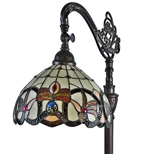 Amora Lighting 62 inch Victorian Reading Floor Lamp