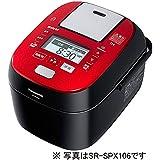 パナソニック 1升 炊飯器 圧力IH式 Wおどり炊き ルージュブラック SR-SPX186-RK