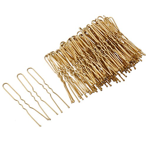 eBoot 100 Pack of U Shaped Hair Pins Bun Hair Pins with Box