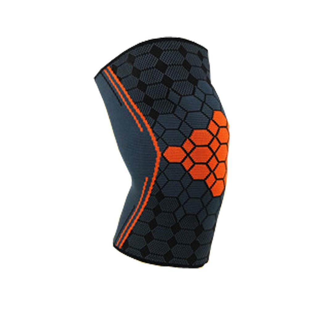 Unisex Sports injury prevention tool Nylon jacquard Sports Knee Pads Geometric pattern splicing Knit knee pads