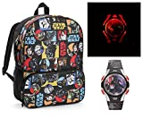 Star Wars Classic Characters School Backpack and Light Up Watch - Kids