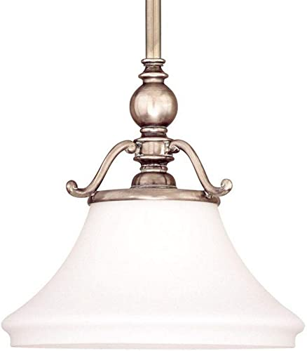 Hudson Valley Lighting 7821-HN Orleans Collection – One Light Pendant, Historic Nickel