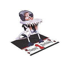 Creative Converting Ladybug Fancy First Birthday High Chair Kit