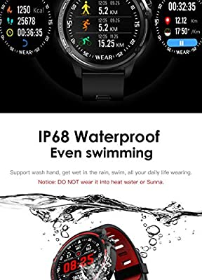 IHCIAIX Reloj Inteligente Smart Watch Men IP68 Waterproof Reloj ...