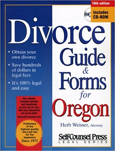 Divorce Guide For Oregon DIVORCE GUIDE AND FORMS FOR OREGON Herb - Legal forms oregon