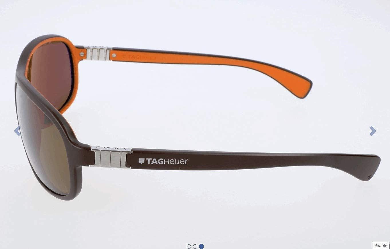 Tag Heuer Sonnenbrille TH-9301 Gafas de sol, Marrón (Braun ...