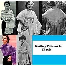 Patrons de tricot pour les châles (French Edition)