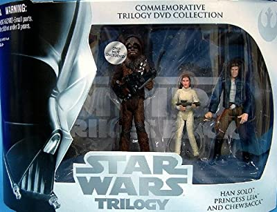 Star Wars Trilogy Empire Strikes Action Figure Set with Chewbacca