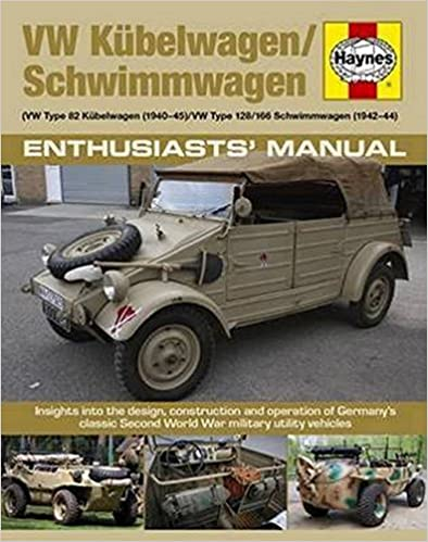 // VW Type 128//166 Schwimmwagen 1941-44 : Insights into the design 1940-45 VW Type 82 Kubelwagen construction and operation of Germanys classic Second World War military utility vehicles VW Kubelwagen//Schwimmwagen
