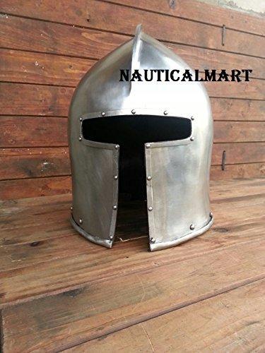 Amazon.com: Medieval Italiano barbute Casco: Clothing