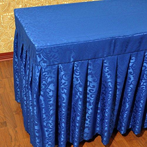 E 4013075cm Nappe européenne Nappes - Hôtel, Table basse, Restaurant, Mode Conférence, Nappes - (VQ0333) (Couleur   E, taille   40  130  75cm)