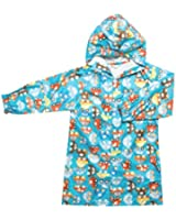 Kids Rain Coat Wear Jacket Poncho Suit 4 Color Children Boy Girl