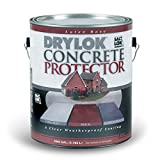 Drylok Concrete Protector With Salt-Lok Interior/Exterior Clear 1 Gl