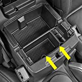 Cahant Car Center Console Organizer Tray for 2018 2019 Jeep Wrangler JL/JLU and Jeep Gladiator JT Truck (2020) Accessories