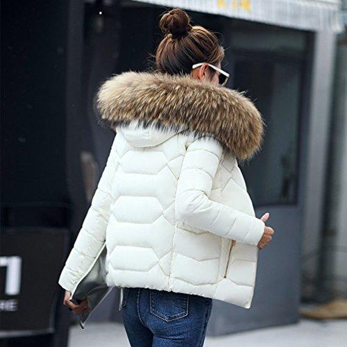 Yiiquan Veste Hiver Jacket Femme Manteau Court awqr0apzx6