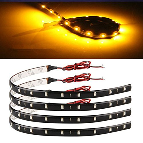30cm Flexible Strip Light Orange