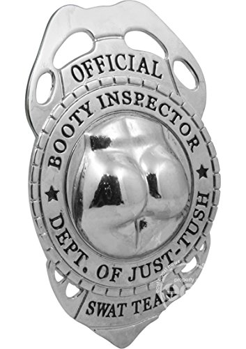 [Official Booty Inspector Badge] (Cute Police Costumes)