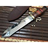 Price Cut - Handmade Hunting Knife Hand Forged O1 Tool Steel - Amaze Value