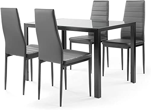 SLEERWAY 5 Pieces Dining Table Set