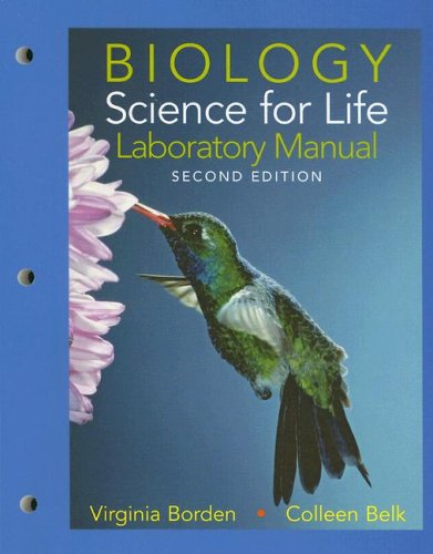 Laboratory Manual for Biology: Science for -