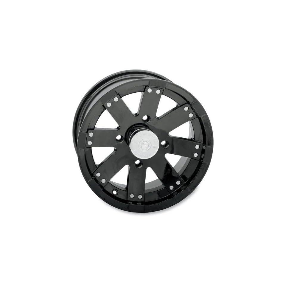 Vision Wheel Type 158 Buck Shot Rear Wheel   14x8   4+4 Offset   4/137   Black , Wheel Rim Size 14x8, Rim Offset 4+4, Bolt Pattern 4/137, Color Black, Position Rear 158PU148136GB4