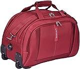 Safari Polyester 55 Cms Burgundy Travel Duffles