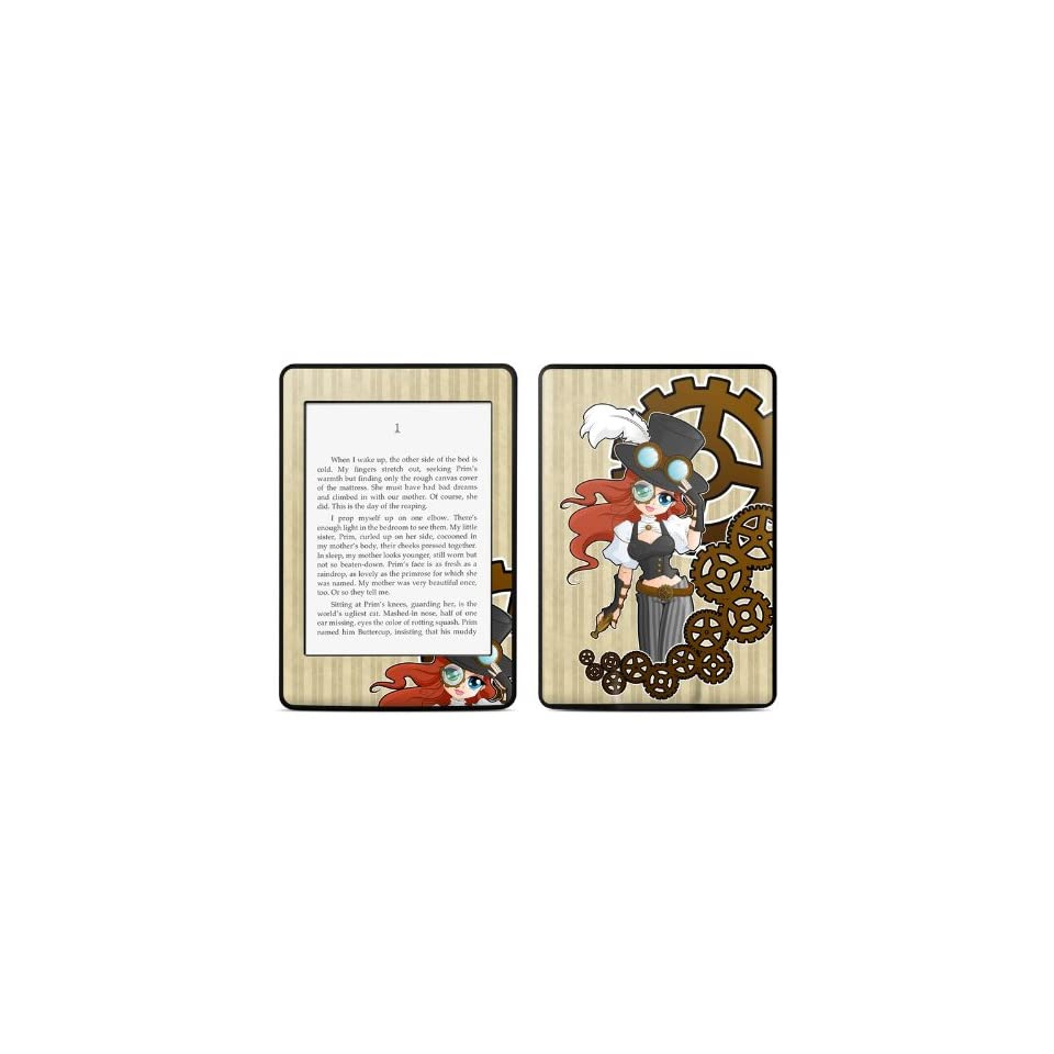 Steampunk Design Protective Decal Skin Sticker for  Kindle Paperwhite eBook Reader (2 point Multi touch)  Players & Accessories