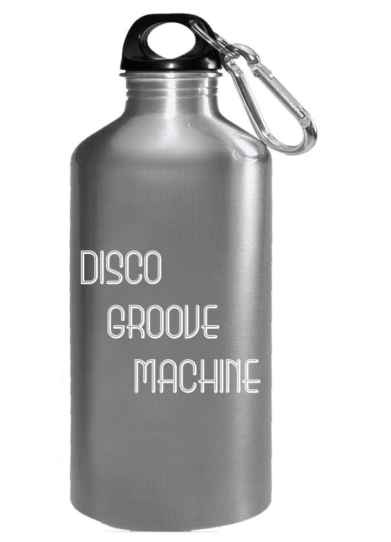 Funny Disco - Groove Machine - Dance Rhythm Steps Moving Dancing Humor - Water Bottle