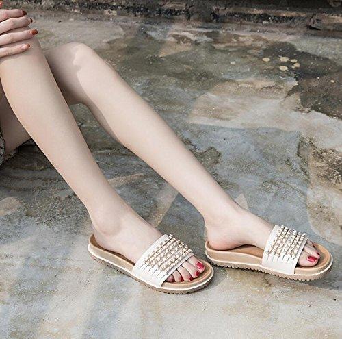 GRRONG Femmes Chaussures Rétro College Vent étudiant Art Frais Coréen Plat en Cuir Chaussures de Sport qOTeroQir