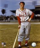 Stan Musial St. Louis Cardinals 8x10 Photo (Leaning on Bat)